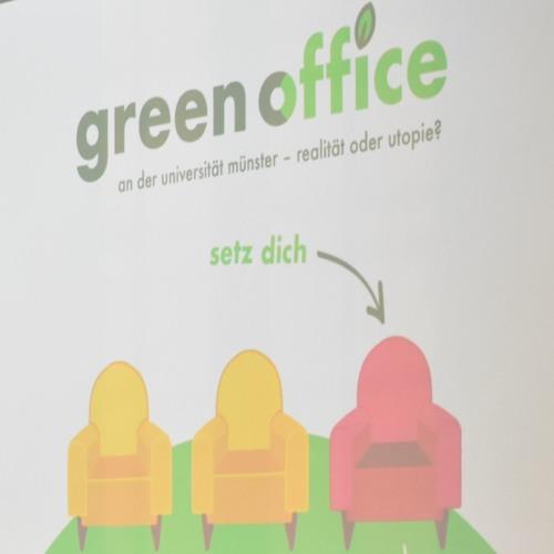 Green Office - Nachhaltigkeitsbüro an der Uni Münster?
