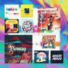 The New Wave Mix Portada del disco