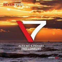 Alex Inc & Piekart - So lonely (luccio b & marcyk radio mix)