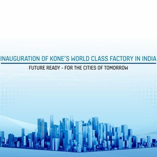 KONE Opens New Facility In Chennai