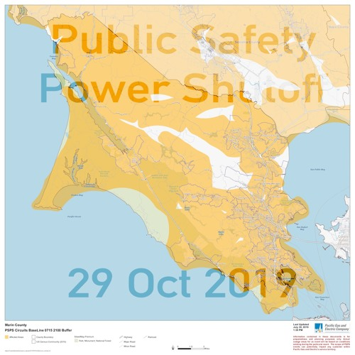 Public Safety Power Shutoff #2 10-29-2019