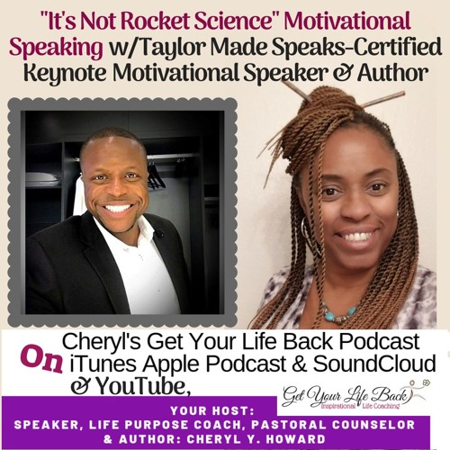 """Becoming A Motivational Speaker """"Is Not Rocket Science!"""""""