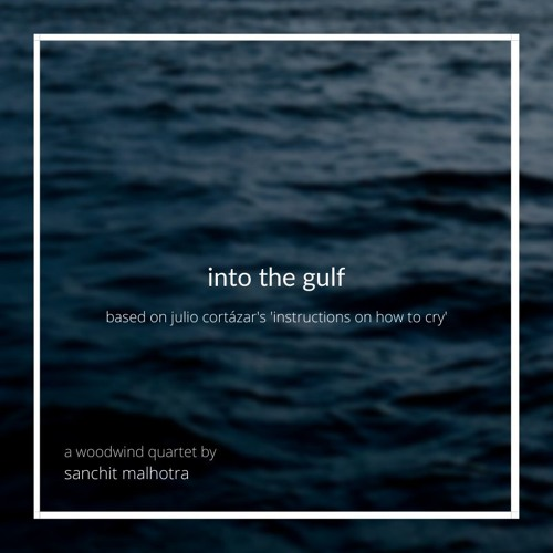 Into the Gulf (based on Julio Cortázar's 'Instructions on How to Cry') for Woodwind Quartet