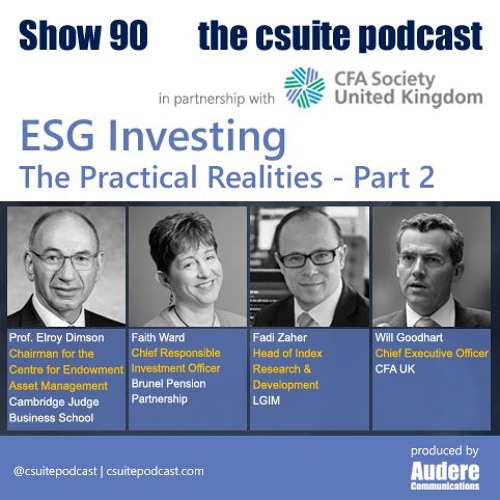 Show 90 - ESG Investing - The Practical Realities - Part 2