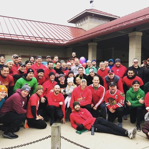Giving the gift of sight in color: F3 Naperville makes a HUGE IMPACT for a HIGH IMPACT MAN