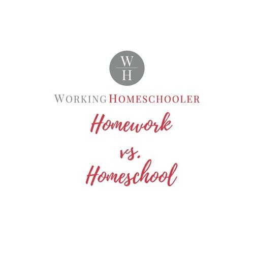 Homework Vs Homeschool