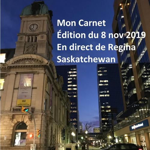 Mon Carnet - 191108 Regina