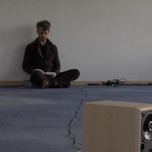 Une situation sonore de compositeur/interprète Yannick Guédon