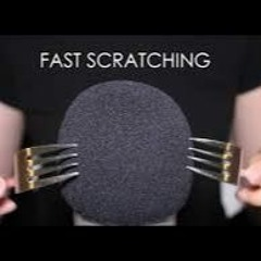 ASMR Fast Mic Scratching with Sharp Objects (No Talking)
