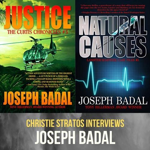 Suspense Novelist Joseph Badal on Writers Showcase with Christie Stratos