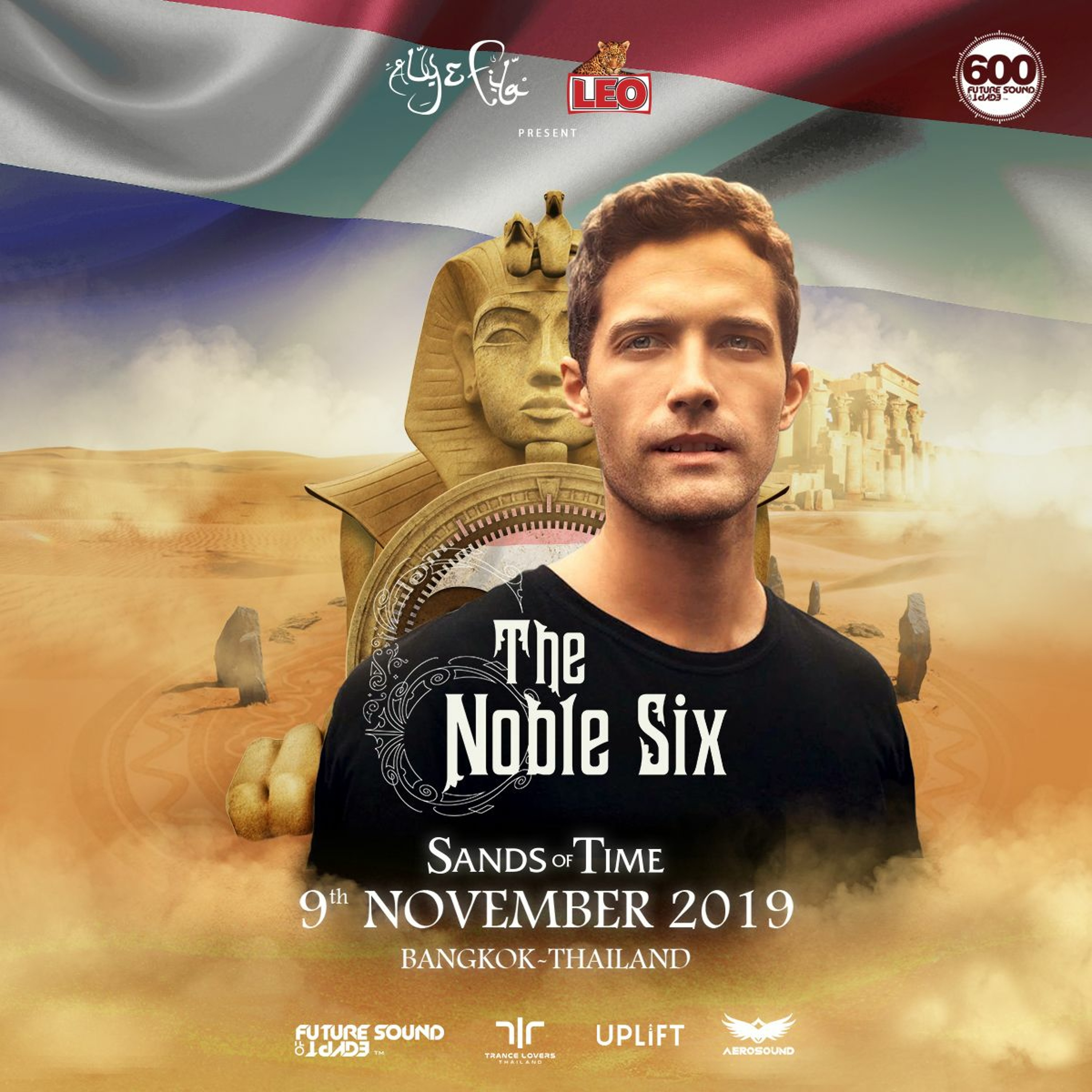 The Noble Six - Live @ FSOE 600 Bangkok 09/11/2019