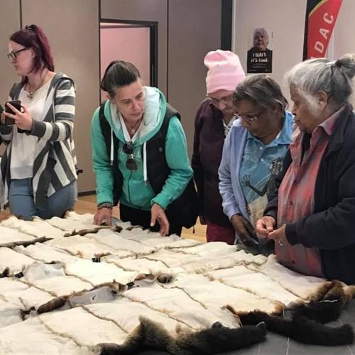 The Ballarat & District Co-operative healing community with possum skin cloak making workshop