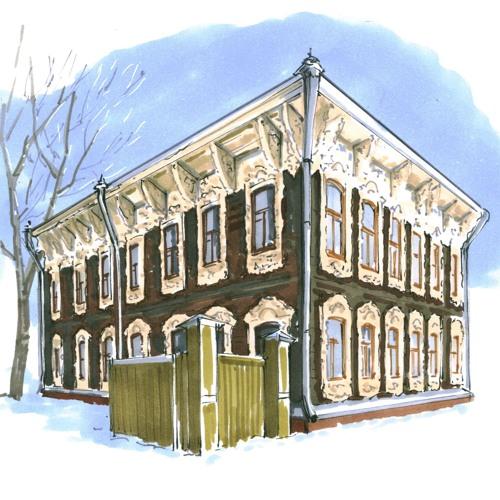 WoodTomsk: история одного дома. Улица Шишкова, 14