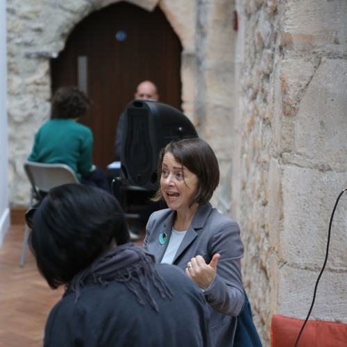 Arts Funding Workshop: Ceri Johnson (Arts Council) & Kelly Best (Jerwood Arts)