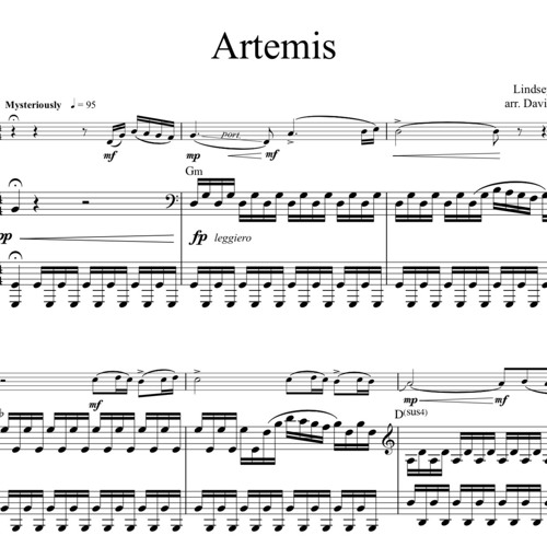 Artemis Piano Accompaniment Sample