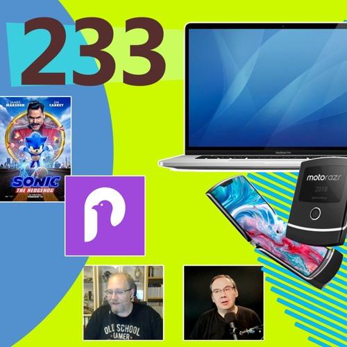 MacBook Pro 16'', Pigeon Transit, Motorola Razr, Sonic de hérisson ...[Les Technos | Podcast #233]