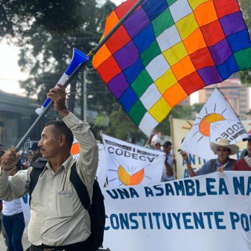 Reporte de Henry Montenegro - MANIFESTACIÓN DE CODECA