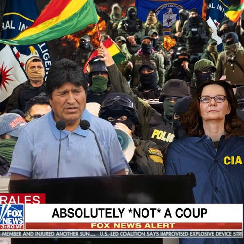 No US Coup in Bolivia!