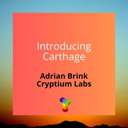 Ep21 - Introducing Carthage With Adrian Brink