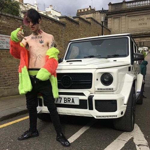 lil peep - benz truck(Гелик) [reworked tribute]