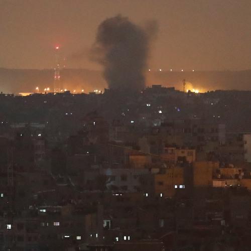 Gaza Flare-Up, Fiddler in Yiddish