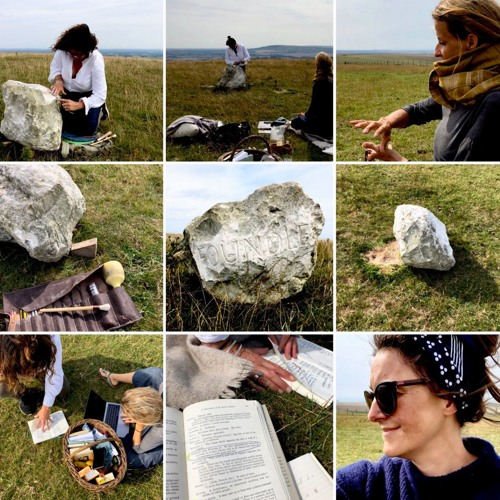 One Minute Of A Carver Talking About The Sound Of Stone (FOUNDLE at Firle Beacon): Aug 19