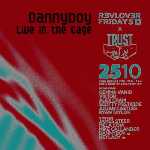 Dannyboy Live In The Cage (Revolver - Melbourne)