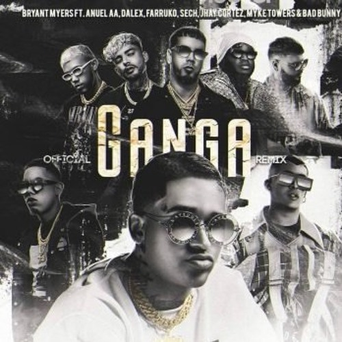 Myke Towers, Jhay Cortez - Ganga Remix