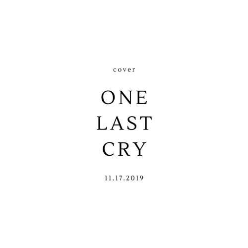 One Last Cry-cover