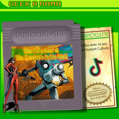 Épisode 182 Geek'O'Rama - The Takeover & The Creature in the Well | Instant Culture : TikTok