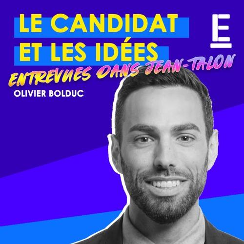 """""""Le candidat et les idées"""" - Entrevue avec Olivier Bolduc"""