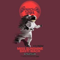 2019-11-17 Miss Sunshine, Basti Wach - NACHSPIEL Sonntag-Nightlife [KitKatClub]