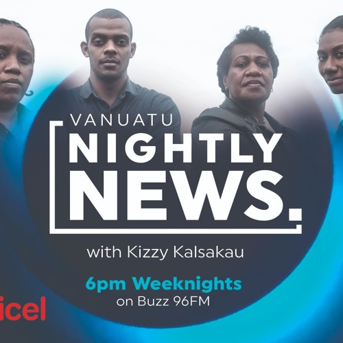 Vanuatu Nightly News With Charlie Sikal- 20 - 11 - 19