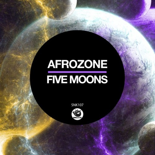 AfroZone - Five Moons (incl. Orion) - SNK107