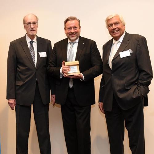 Verleihung Goldene Umweltschiene 2019