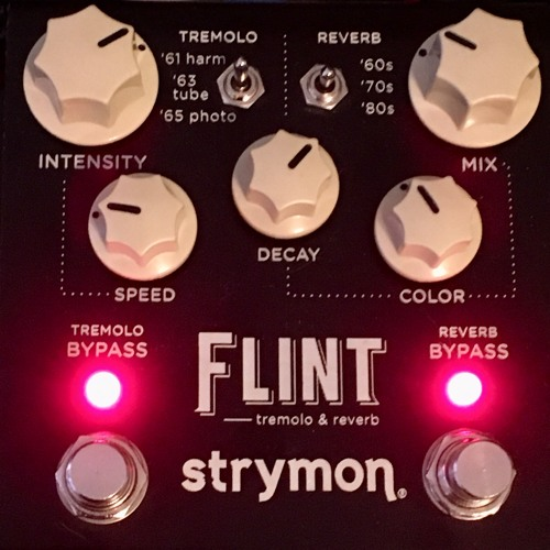 Strymon Flint Harmonic Tremolo Song