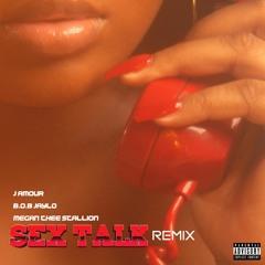 Megan Thee Stallion, J AMOUR & B.O.B Jaylo - Sex Talk (Remix)