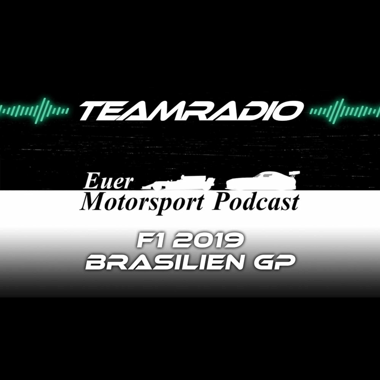 F1 2019 Brasilien GP Review | Chaotisches Finale in Interlagos! | TeamRadio Podcast