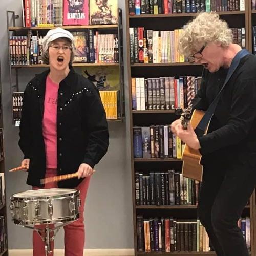 Acoustic Set at Barbara & the Rage Brigade book launch 191123
