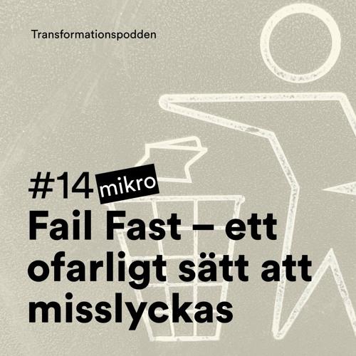 #14 - Mikropod: Fail Fast – ett ofarligt sätt att misslyckas