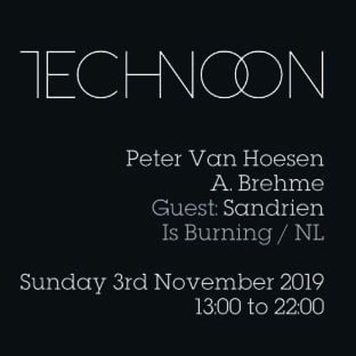 Sandrien at Technoon Brussels 03-11-2019