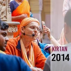 Kirtan - Kadamba Kanana Swami - 3th October 2014 - New Govardhan, Sydney, Australia