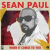 When It Comes To You (Hook Remix)- Sean Paul Portada del disco