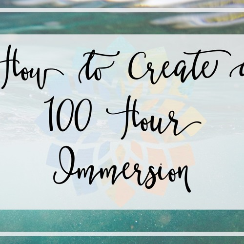 Create a 100 Hour Yoga Immersion