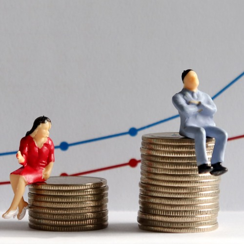 Why do men feel more stressed if their wife earns more than them?
