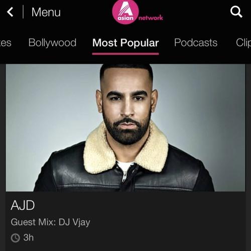 BBC Asian Network - DJ Vjay's Urban Desi Mix on DJ AJD's show (October 2019)