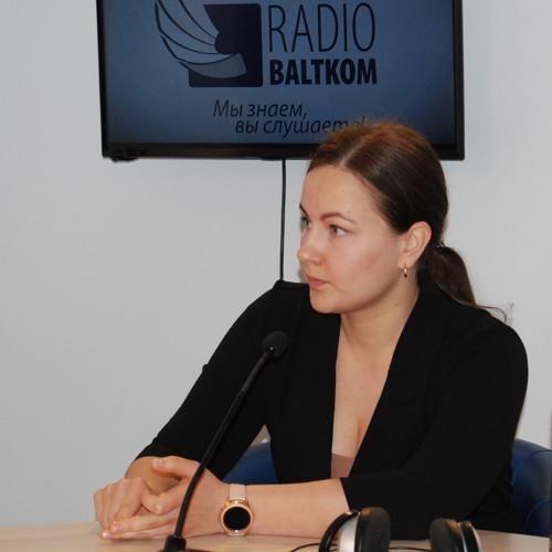 """Алина Ластовска в программе """"Утро на Балткоме"""" (28.11.2019)"""