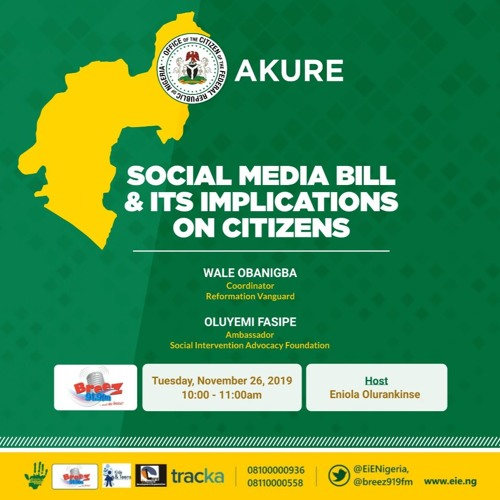 Social Media Bill and It's Implication on Citizens