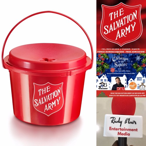 Interview w Major Rob Kerr on Christmas in the Square w the Salvation Army Ft Dru