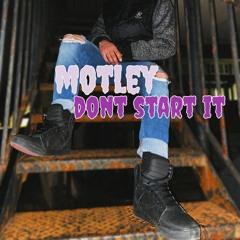 Don't start it (prod.BN1)